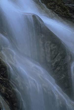 Adoki Falls, digital painting by Ven. Anzan Hoshin roshi