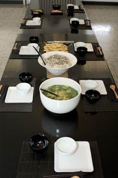 Dining Hall at Dainen-ji