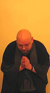 Roshi bowing