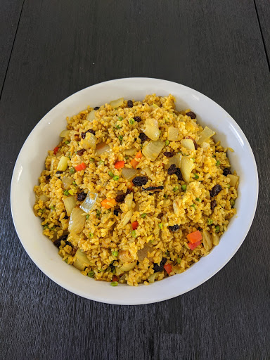 Dainen-ji meal, fried rice